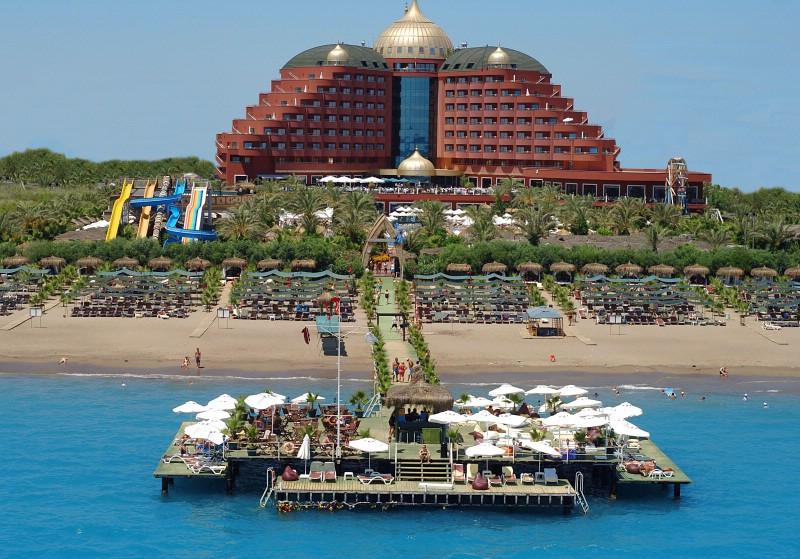 Lüks Antalya Otelleri - Delphin Palace Hotel