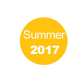 Summer 2017 - Book Now