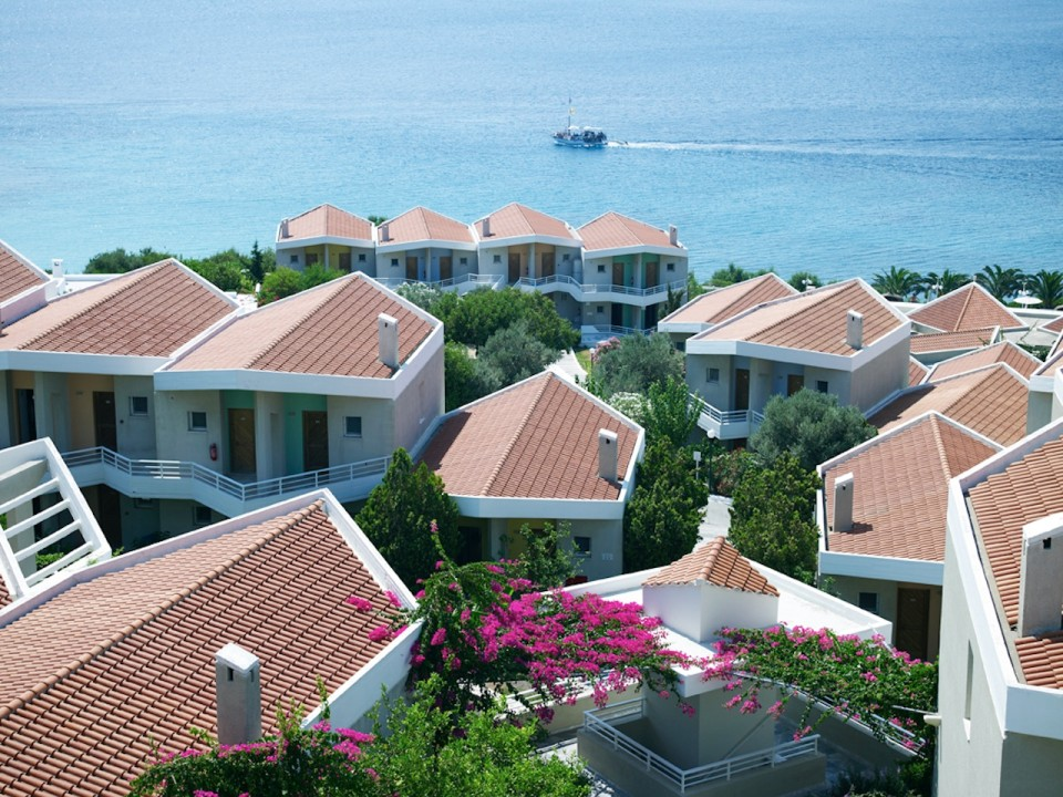 Main Building Sea View Proteas Blu Resort Samos Hotel