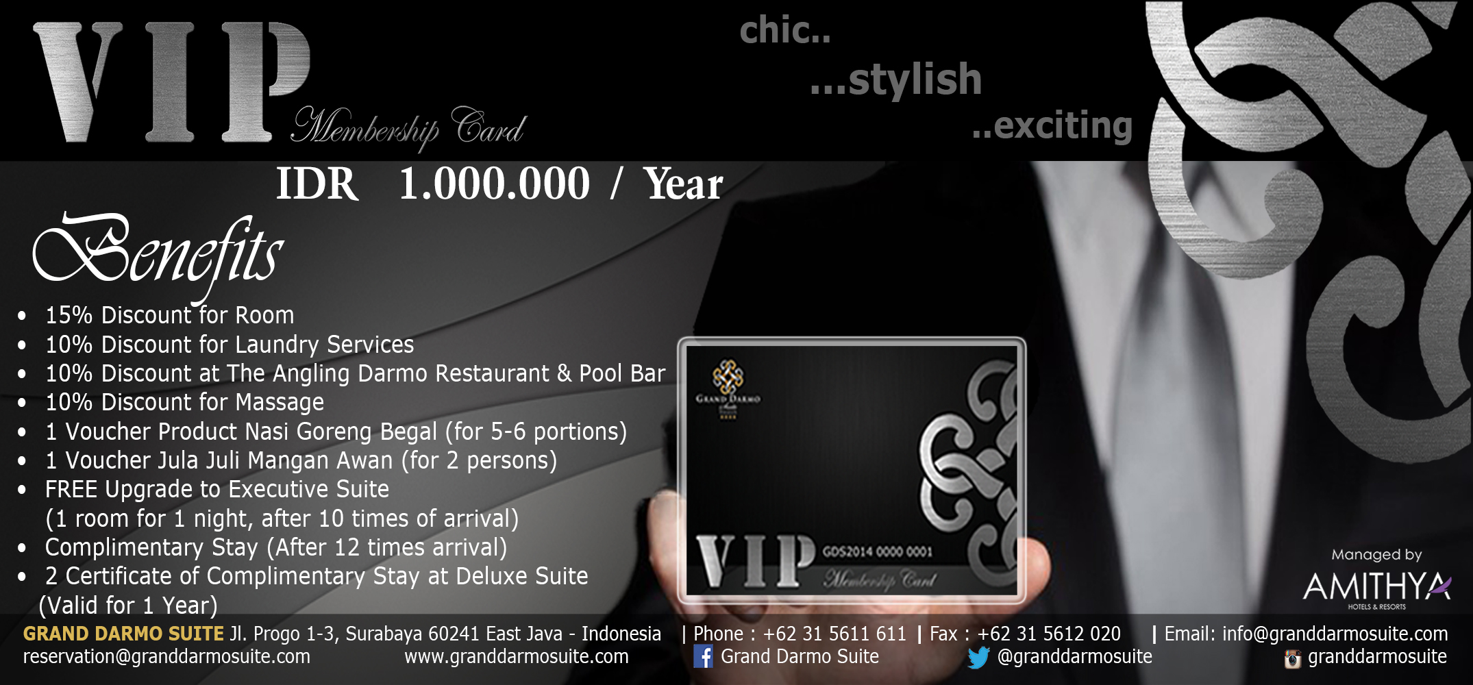 VIP Membership Card Promotion